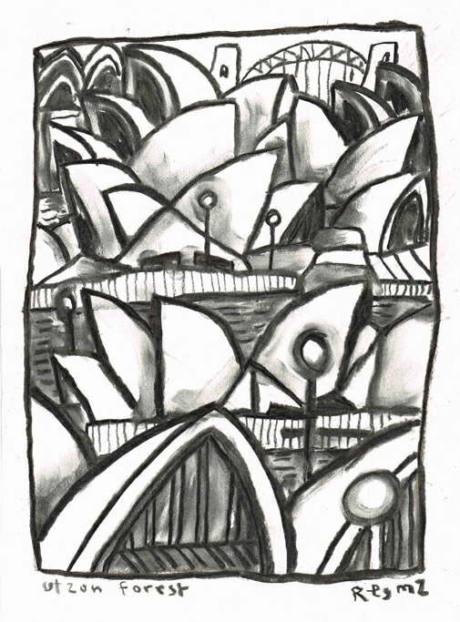 charcoal on paper,25 x 33cm, 2015